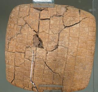 cuneiform maths form Ebla 2400 2250 BC,spijkerschriftmathematische teksten 2400 2250 bc Ebla door schrijver kish,,cunéiforme mathématique de Ebla