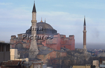 4-71-03-0003 Turkey Turkije Turquie Istanbul Hagya Sofia mosque moskee mosquée