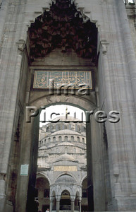 1-71-03-0240 Turkey Turkije Turquie Istanbul blue mosque blauwe moskee mosquée blue