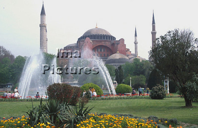 4-71-03-0004 Turkey Turkije Turquie Istanbul Hagya Sofia mosque moskee mosquée