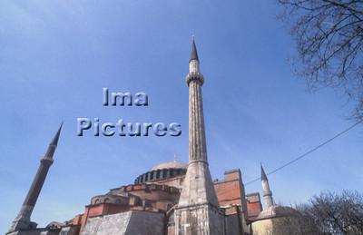 4-71-03-0013 Turkey Turkije Turquie Istanbul Hagya Sofia mosque moskee mosquée