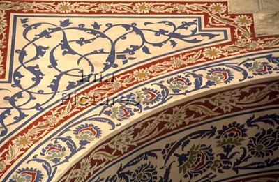 1-71-03-0356 Turkey Turkije Turquie Istanbul blue mosque blauwe moskee mosquée blue