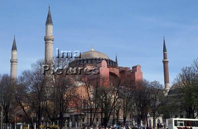 1-71-03-0272 Turkey Turkije Turquie Istanbul Hagya Sofia mosque moskee mosquée