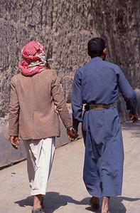 Sana'a,people,mensen,gents,Yemen