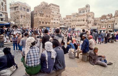 Sana'a,Bab al Yemen,Yemen