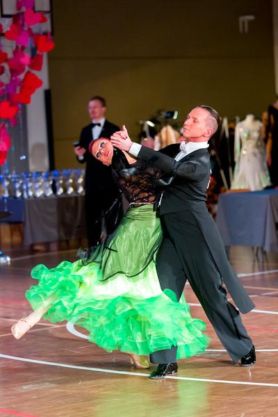 Ystävänpäivän GB-kilpailut, Seniori 10 Tanssi,vakiot