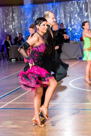 Tapio Luttinen, Tarja Luttinen Nick's Dance Sport, Lahti. Ystävänpäivän GB-kilpailut Seniori 10-Tanssi latin