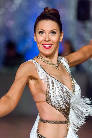 Jenni Salminen Oikea Rytmi, Pori. Ystävänpäivän GB-kilpailut Seniori 10-Tanssi latin