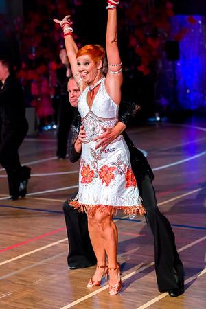 Ystävänpäivän GB-kilpailut Seniori 10-Tanssi latin