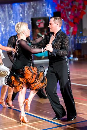 Sampsa Lindberg, Katja Lindberg Nick's Dance Sport, Lahti. Ystävänpäivän GB-kilpailut Seniori 10-Tanssi latin