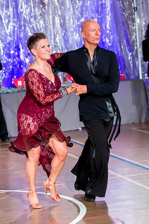 Jukka Leppänen, Tiina Siniketo-Leppänen Nick's Dance Sport, Lahti. Ystävänpäivän GB-kilpailut Seniori 10-Tanssi latin