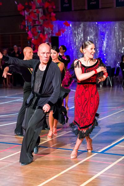Pekka Södö, Anu Haataja. DSC, Oulu. Ystävänpäivän GB-kilpailut Seniori 10-Tanssi latin