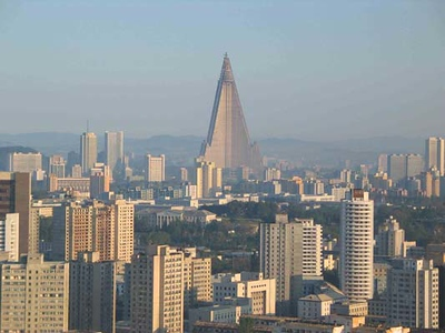 Ryugyong Hotel in Pyongyang, N. Korea-NOT MINE