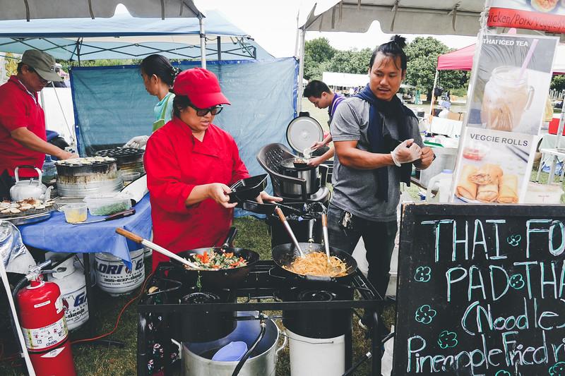 Thai food preparation