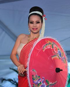 Thai folk dance.