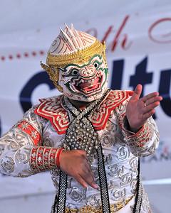 Thai Folk Dancer