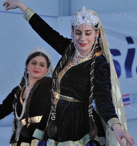 Irani Folk Dancer