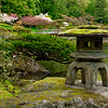 Mossed Pagoda with Azaleas
