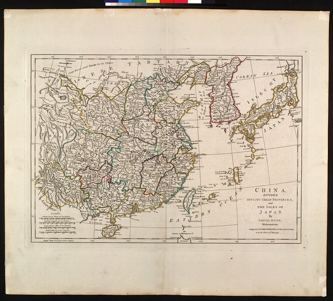 China, divided into its great provinces, and the isles of Japan