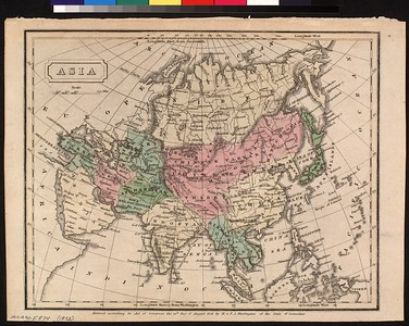 Asia : entered according to Act of Congress, the 12th day of August 1830