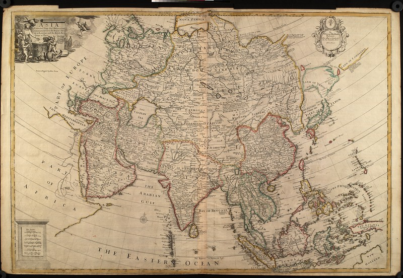 Asia : corrected from the observations communicated to the Royal Society at London and the Royal Academy at Paris