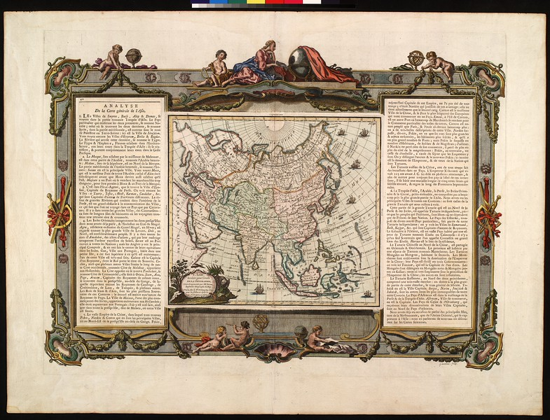 L'Asie : dressée pour l'étude de la géographie