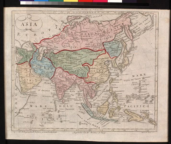 Asia : compendio di geographia