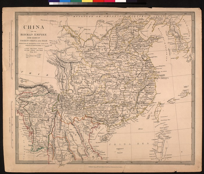 China and the Birman empire, with parts of Chochin-China and Siam