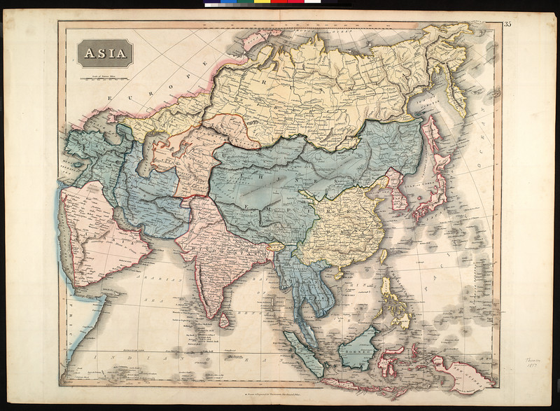Asia : drawn & engraved for Thomson's New general atlas