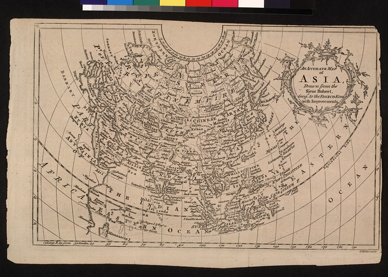 An accurate map of Asia : drawn from the Sieur Robert, geog'r. to the French King, with improvements.