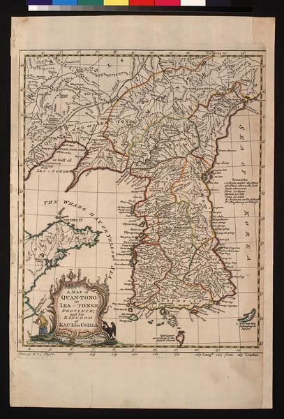 A map of Quan-tong, or Lea-tonge province