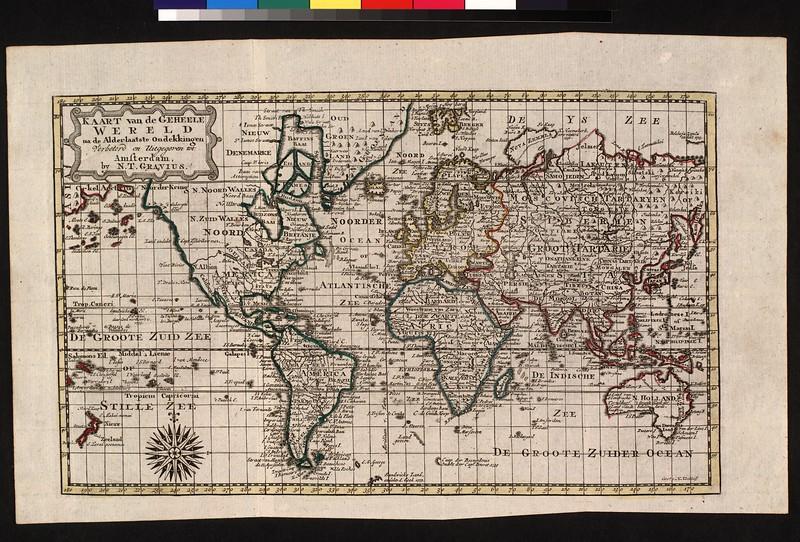 Kaart van de geheele wereld : na de alderlaatste ondekkingen