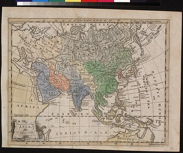 Asian Map Collection