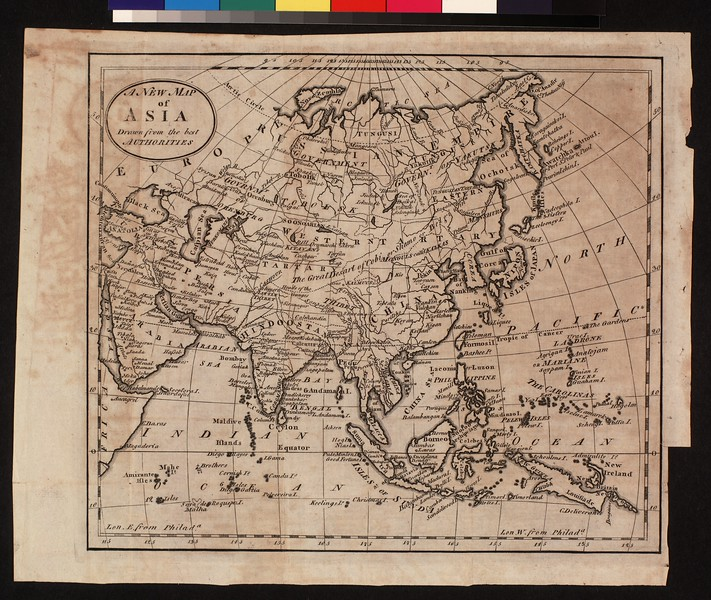 A new map of Asia, drawn from the best authorities.