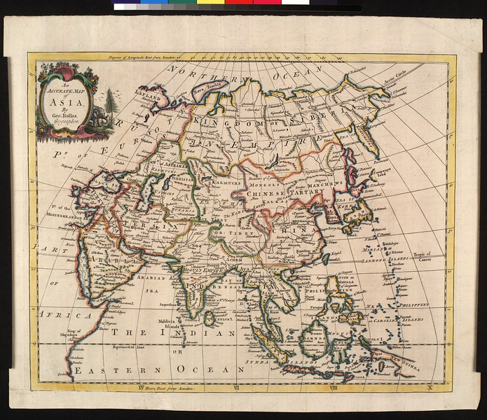 An accurate map of Asia