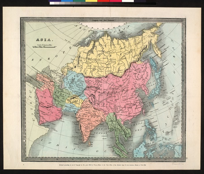 Asia : entered according to Act of Congress in the year 1835