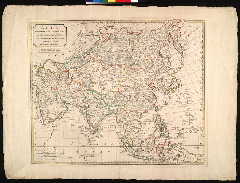 Asia and its several islands and regions : according to their most approved divisions, with Captain Cook's new discoveries