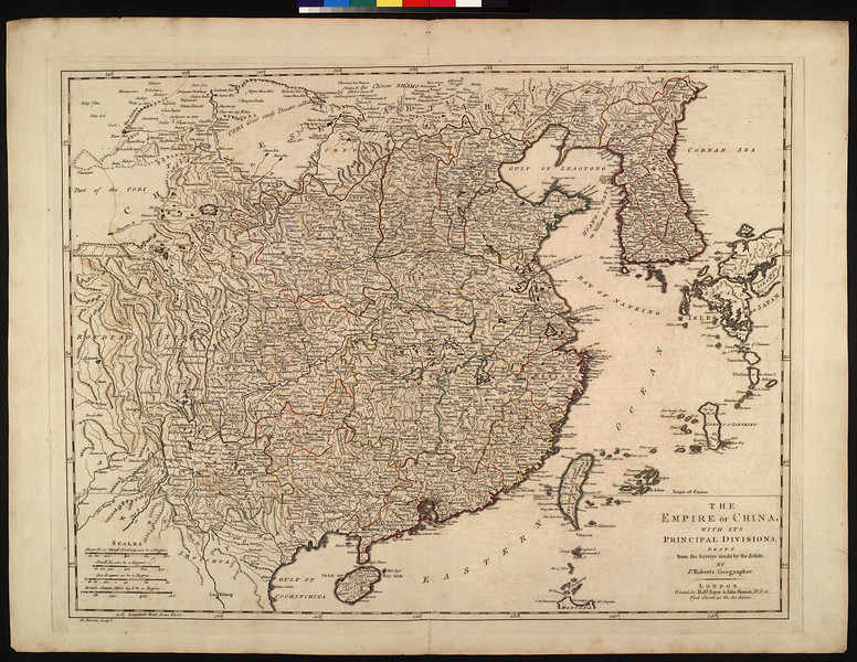 The empire of China, with its principal divisions : drawn from the surveys made by the Jesuits