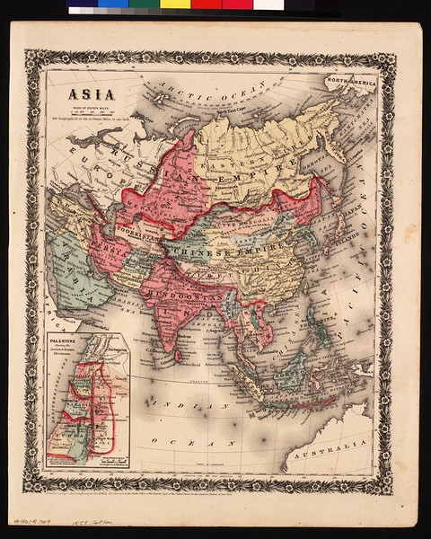 Asia : entered according to Act of Congress in the year 1858