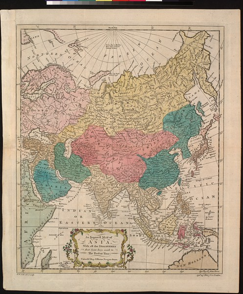 An improved map of Asia : with all the discoveries that have been made to the present time