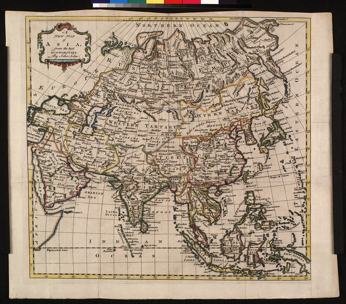 A new map of Asia, from the best authorities