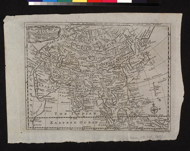 An accurate map of Asia : drawn from the most approved modern maps & charts & regulated by astron'l. observations