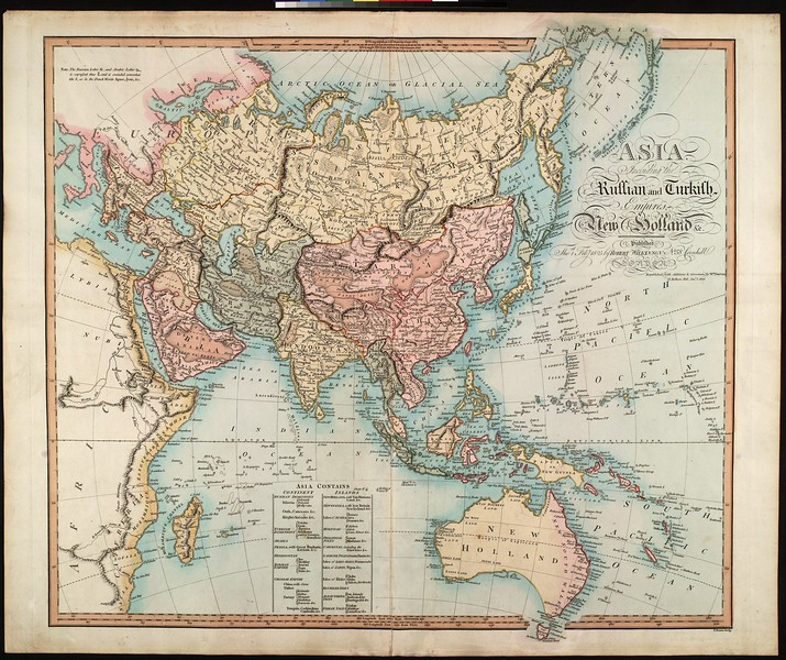 Asia : including the Russian and Turkish empires, New Holland
