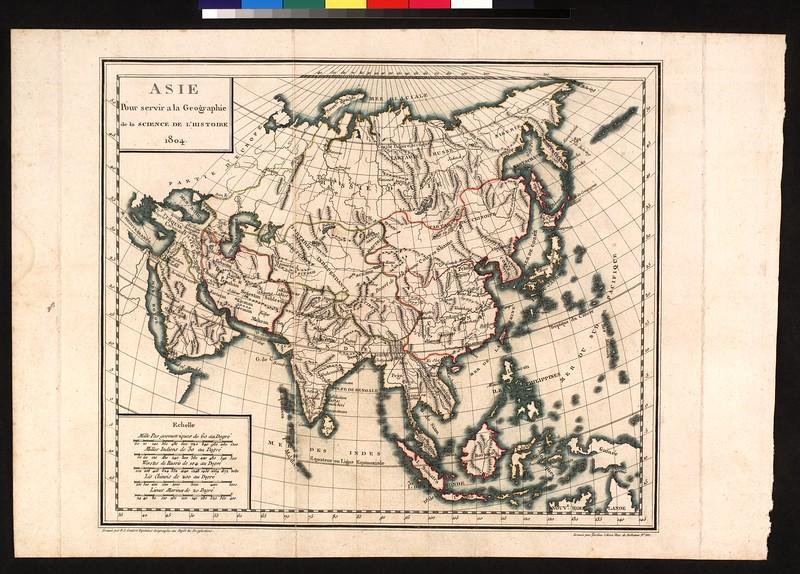 Asia : pour servir a la geographie de la science de l'histoire