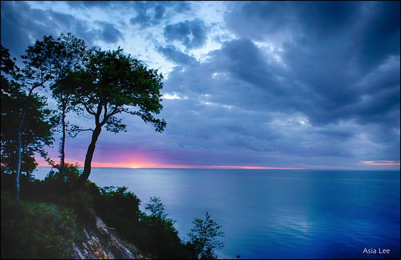 Rocky Point  Sunset<br /> 6/1/2014
