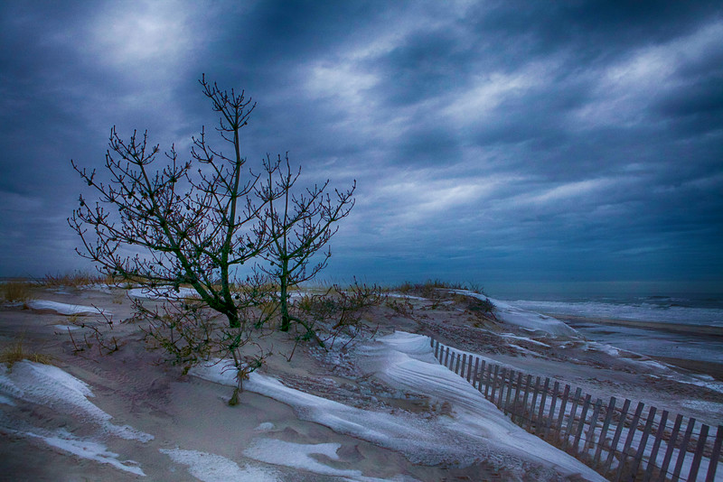 February 2014 Smith Point Beach<br /> Sunrise at the beach