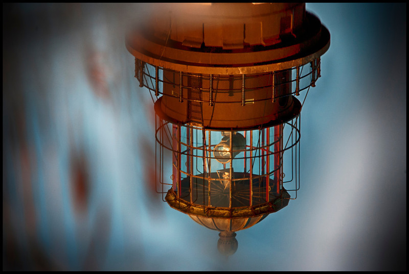 Reflections of Robert Moses Lighthouse<br /> 4/3