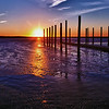 February in Cedar Beach Marina <br /> I find the sunsets so magnificent on Long Island and there are so many places to watch it.