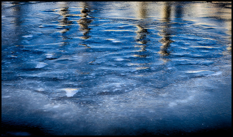 Frozen Reflection at Captree