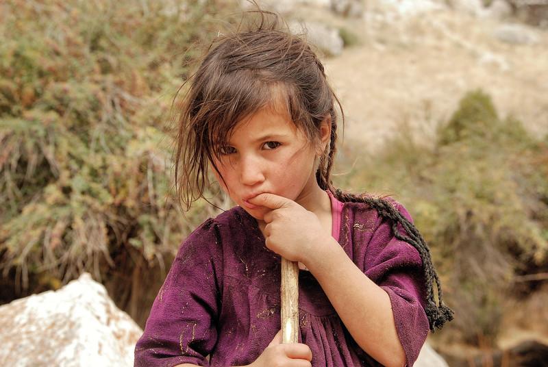Jeune fille tadjik